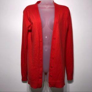 Gap Wool blend Button Down Cardigan Size Medium